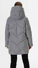 Зимняя куртка СВЕТООТРАЖАЮЩАЯ 140, фото 3