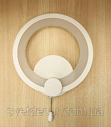 Бра светодиодное настенный LED светильник 9W 8022/1 круг