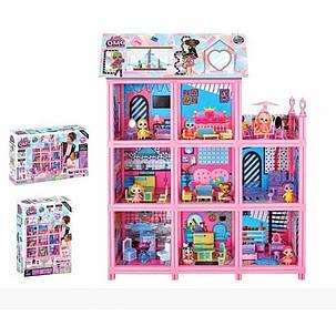 Большой Домик для ЛОЛ с куклами и аксессуарами 9 комнат, фото 2
