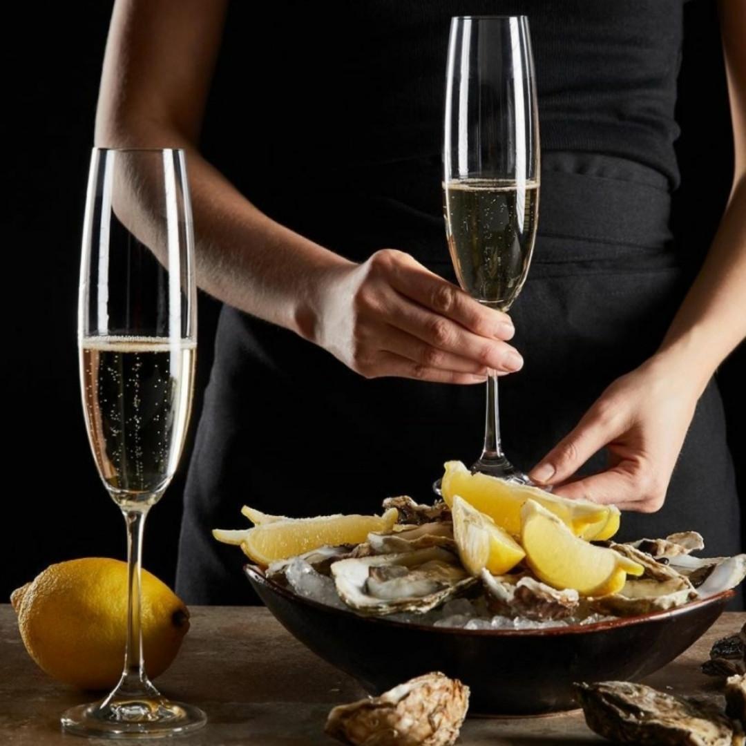 Набор бокалов для шампанского Bohemia Fulica 250 мл  6 шт