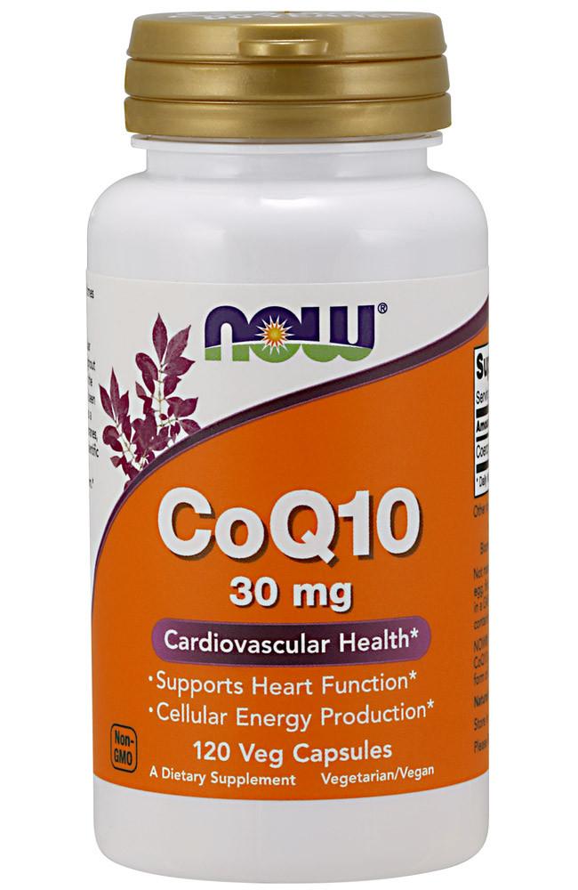 NOW COQ10 30mg 120caps