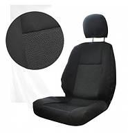 Модельные чехлы для микроавтобуса Mers Sprinter/ W-LT 96-06 бус В 2+1 большие сидения черные плотные