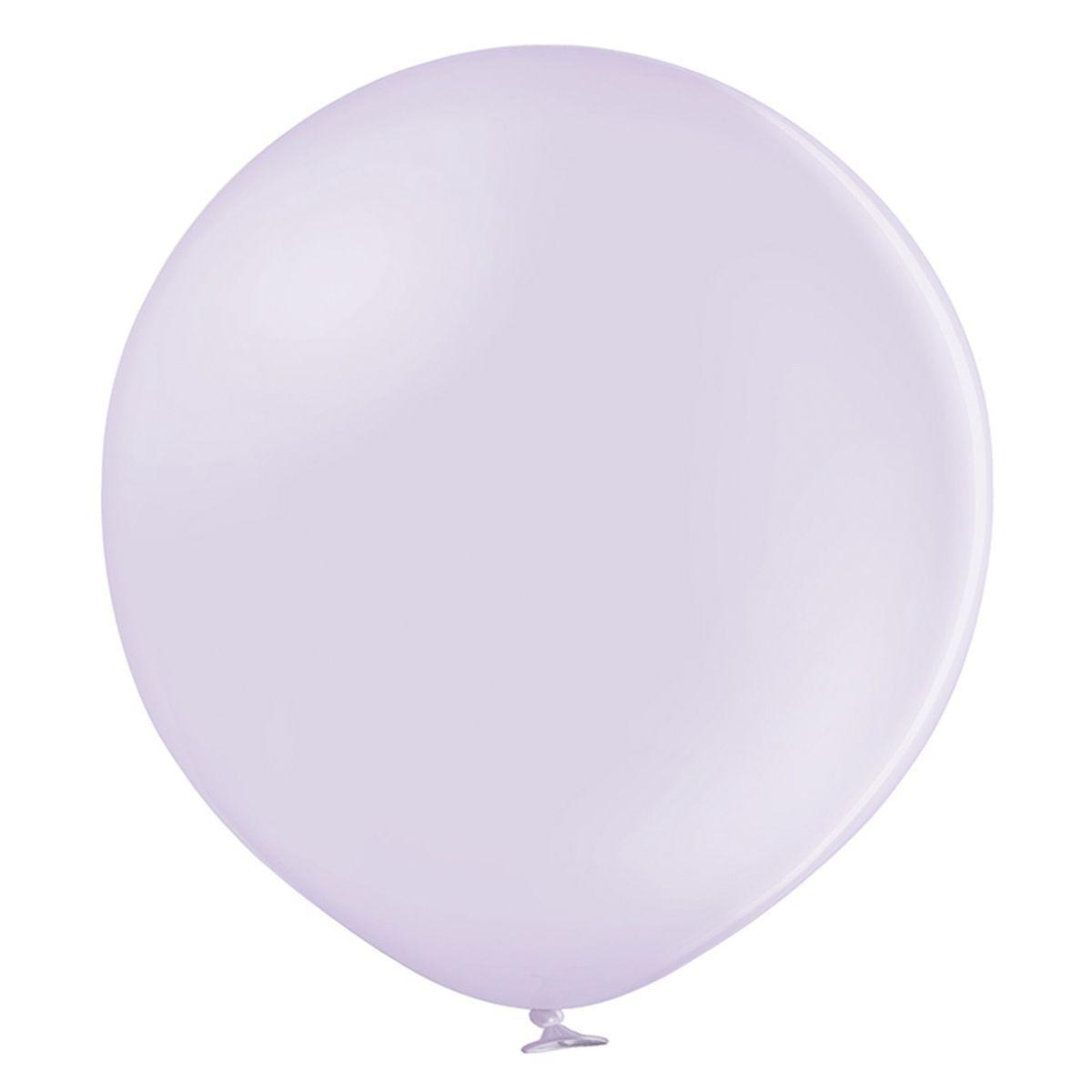 """Кулька 12""""/30 ліловий 451 латекс пастель макарун ТМ """"Belbal"""" однотонний шт."""