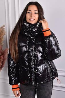 Куртка женская черная AAA 126279S