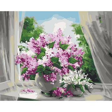 Картина за номерами 40×50 див. Ідейка (без коробки) На порозі літа (КНО 2073)