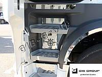 Накладки на боковые стенки подножек для DAF XF 106