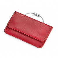 Визитница-ключница карманная красная Германия 410273