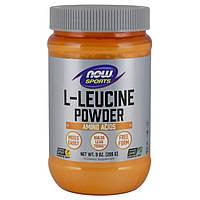 Лейцин NOW L-LEUCINE POWDER 255g