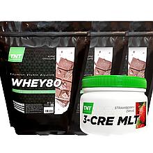 Шоколадный Масс-комплект Протеин 6 кг Poland ALPINE CHOCOLATE + Креатин в Подарок