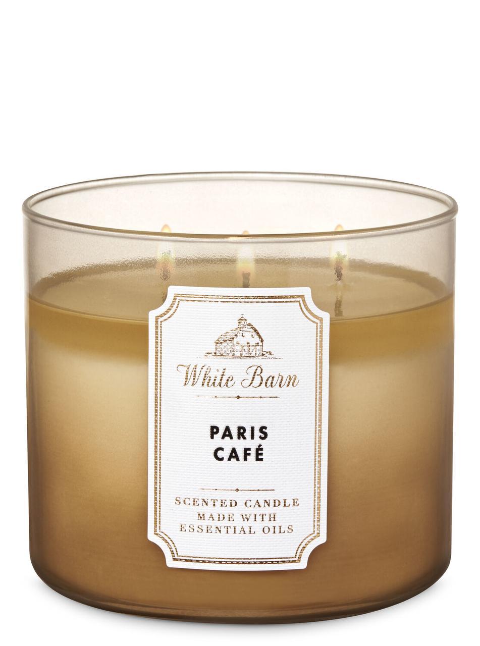 Свеча ароматизированная Bath and Body Works Paris Cafe Scented Candle