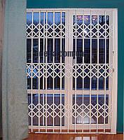Раздвижные решетки на двери Шир.2200*Выс2200мм для дома, фото 1
