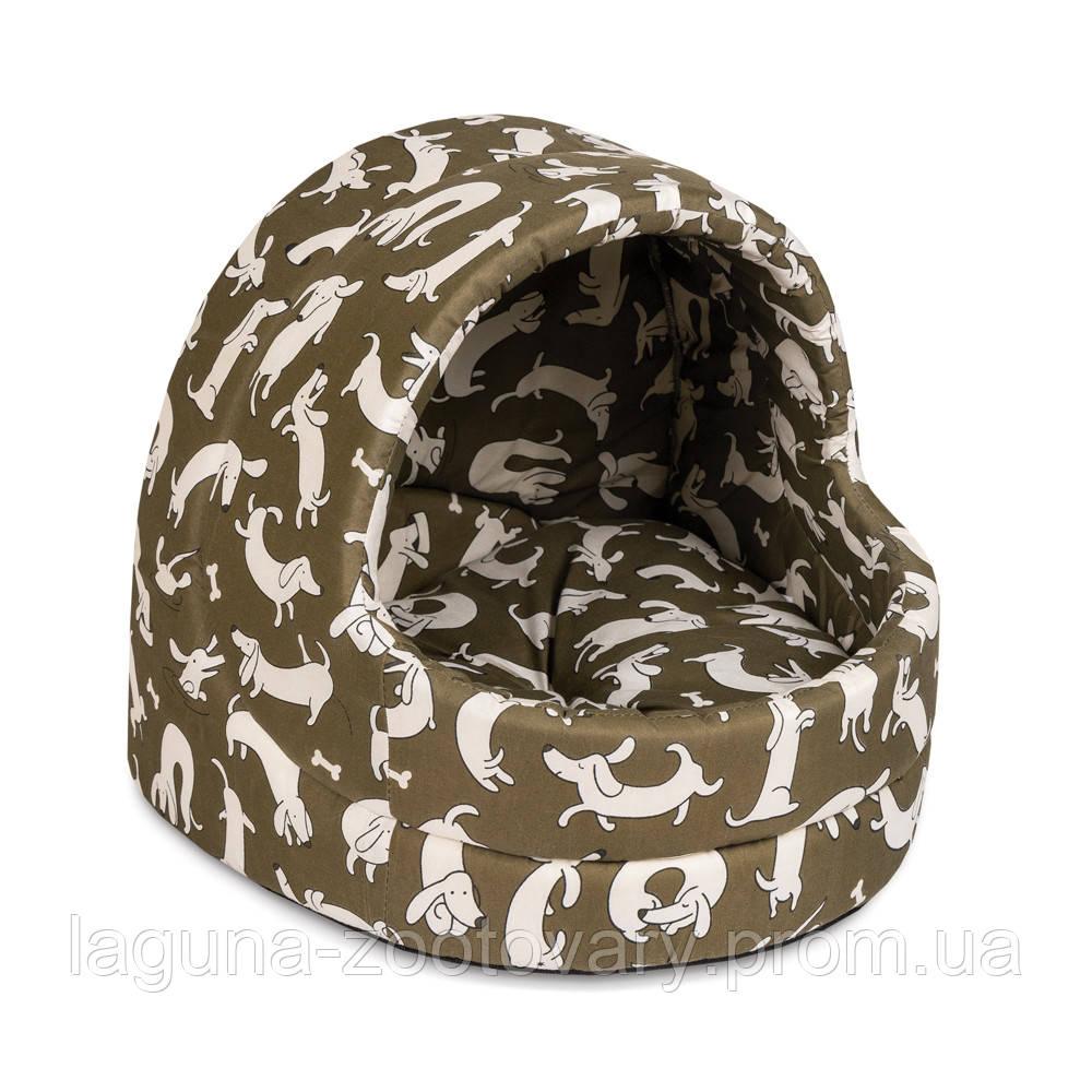 """Дом-лежак """"Comfort"""" № 1 (32*31*28см) для кошек и собак"""