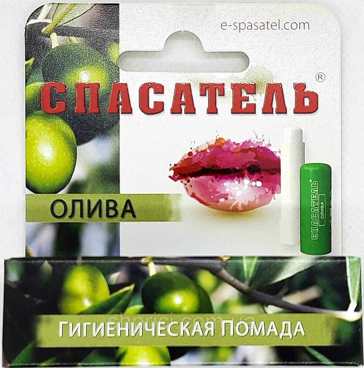 Гигиеническая помада Олива/ Спасатель/ DR RETTER EC