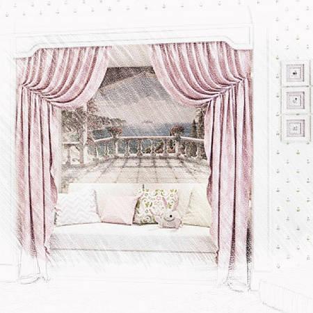 Пошив штор для отелей в Киеве