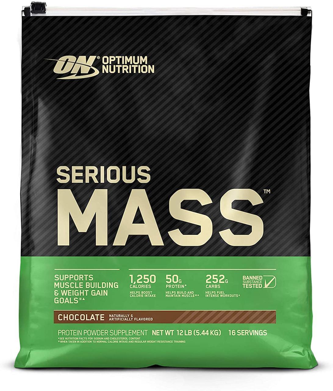 Optimum Nutrition Serious Mass 5450 g (інші смаки)