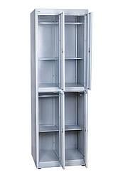 Шкаф для одежды ТМ Ferocon ШМО 24-01-08х18х05-Ц-7035