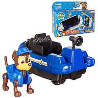 Игровой набор Paw Patrol: Щенячий Патруль. Герой-спасатель Гончик на транспорте