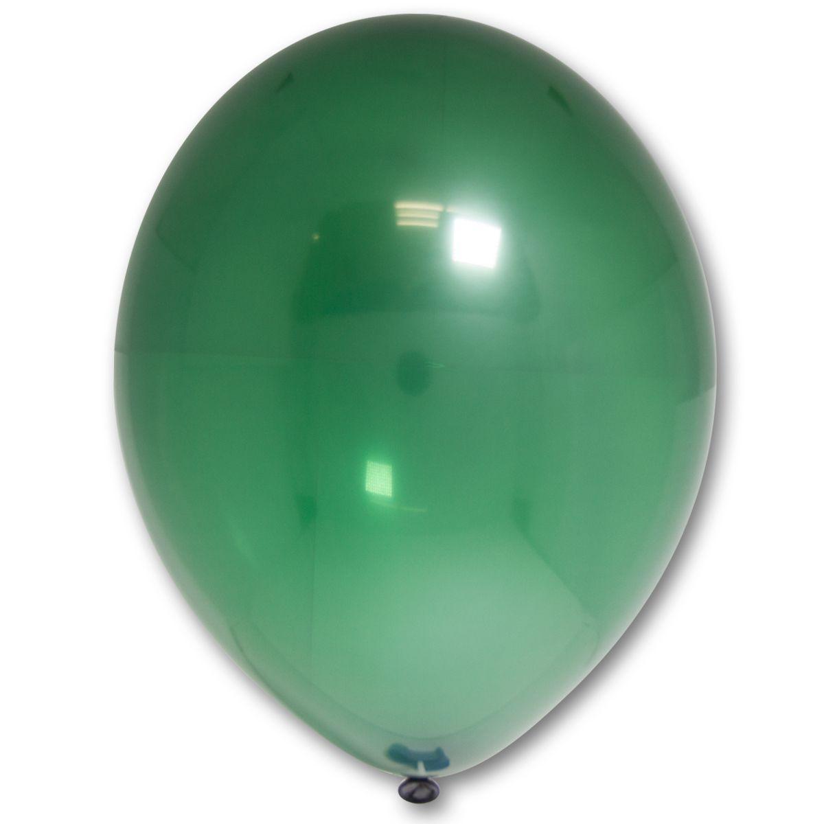 """Кулька 12""""/30 зелений 035 латекс кристал ТМ """"Belbal"""" однотонний шт."""