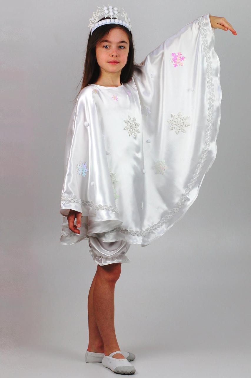 Детский карнавальный костюм Зимы для девочек от 5 до 8 лет