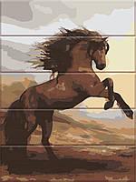 Картина по номерам на дереве ArtStory Свобода 30*40 см, фото 1