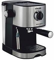Эспрессо кофеварка GRUNHELM GEC17 850Вт 15 бар объем 1л