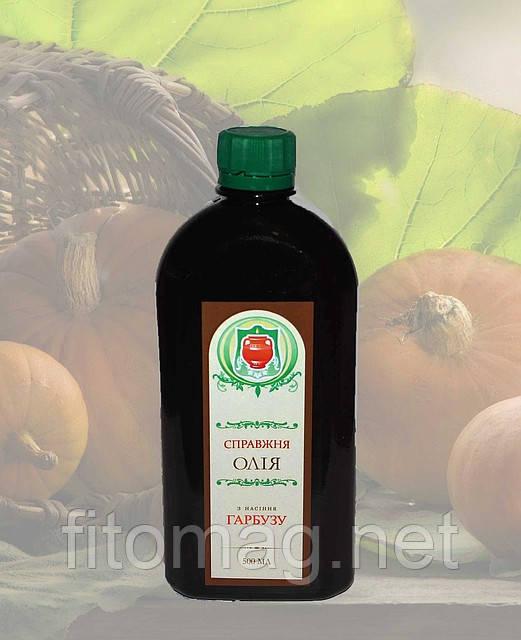 Масло семян тыквы 500 мл.(пластиковая бут)