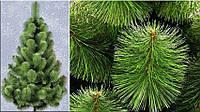 Сосна зелена Мікс 2.5 м штучна з волосіні, фото 1