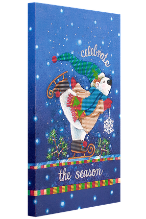 """Схема для вышивания бисером """"Новогодний мишка"""", фото 2"""