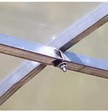 Теплица «Веган» 2×4 из оцинкованной квадратной трубы с пленкой 120 мкм, фото 3