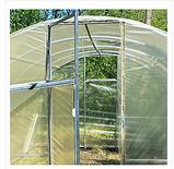 Теплица «Веган» 2×4 из оцинкованной квадратной трубы с пленкой 120 мкм, фото 2