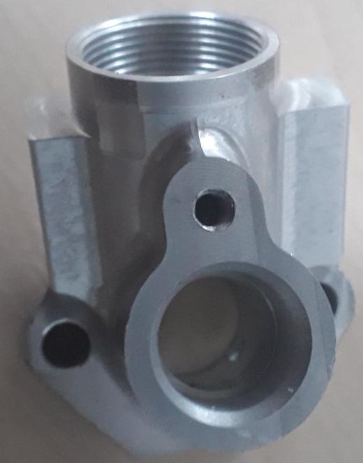 Корпус інжектора з алюмінію