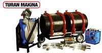 Сварочный аппарат Turan Makina AL 500. Аппарат сварки полиэтиленовых труб в стык. Паяльник пластиковых труб.