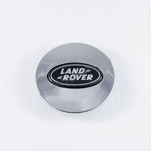 Колпачок для диска   Land Rover хром/черн. лого (62 мм)