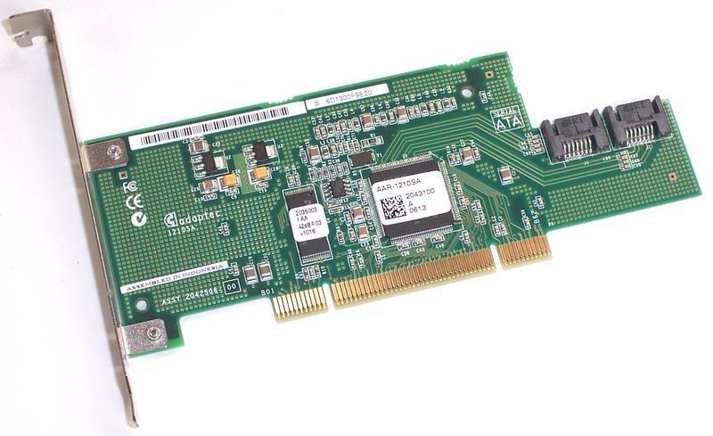 SATA RAID контроллер Adaptec AAR-1210SA