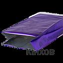 Пакет с центральным швом 90*320 ф (30+30) фиолетовый, фото 3