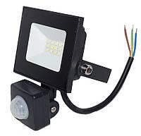 Прожектор светодиодный с датчиком движения LED NEOMAX 10W 220V IP65 6000K