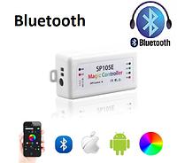 SPI smart контроллер Bluetooth SP105E DC5-24V. Для адресной ленты RGB/RGBW  WS2811, WS2812, 1804, 6803, 1903, фото 1