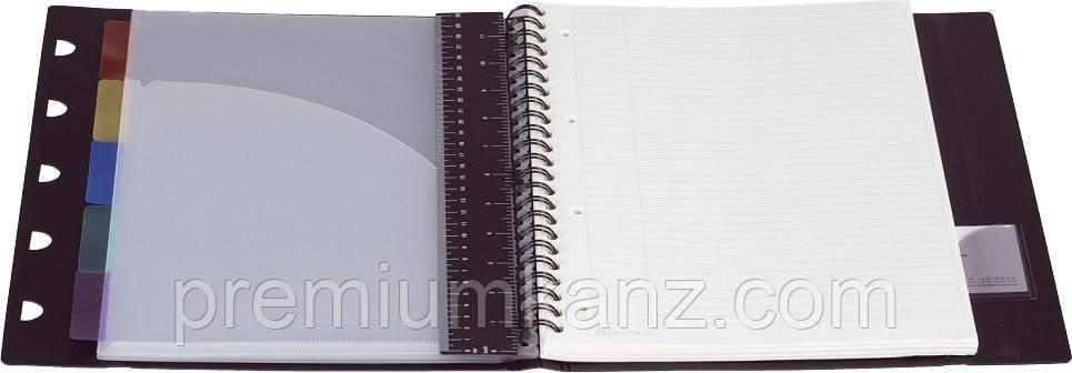 Папка-органайзер з блокнотом і 5 роздільниками EXACOMPTA