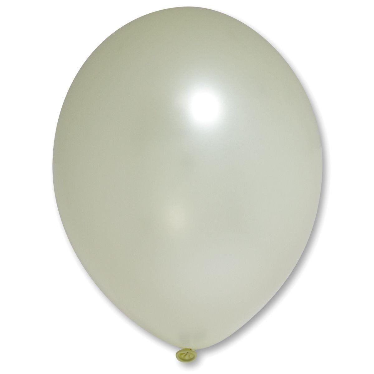 """Кулька 12""""/30 айворі екстра 077 латекс металік ТМ """"Belbal"""" однотонний шт."""