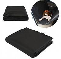 Подстилка - чехол на автомобильное сиденье для домашних животных Pet Zoom Loungee Auto черный