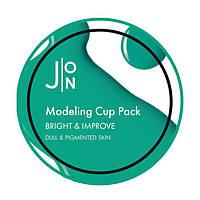 Альгинатная маска осветляющая J:ON Bright Improve Modeling Pack 18 г
