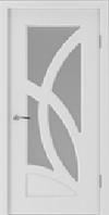 Двері міжкімнатні Лілія скол дуба білого