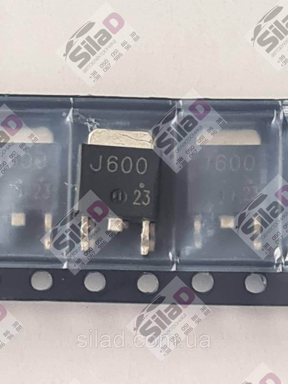 Транзистор 2SJ600 J600 NEC корпус TO-252