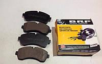 Колодки перед диск (Brembo) тоомоз сист  DB Sprinter-509/524-06 VW Crafter2,5TDI-06- BRD-LP1981-Канада