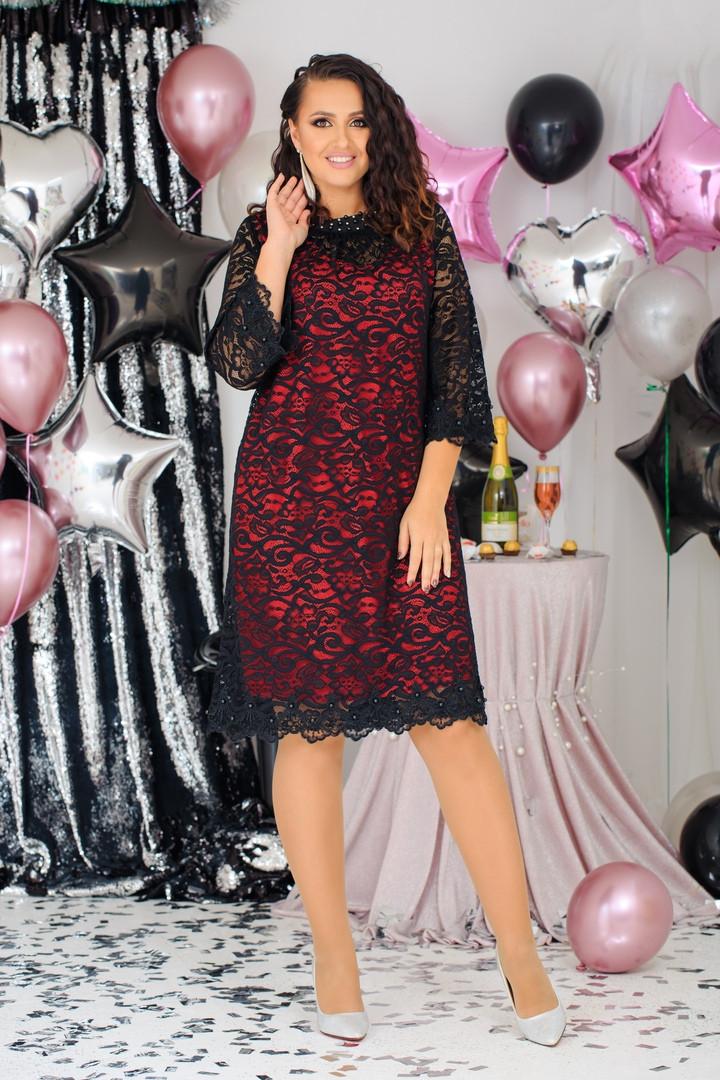 Нарядное,праздничное женское платье  Размер:  48, 50, 52, 54, 56, 58