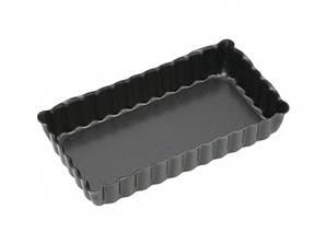 KC NS Формы для выпечки мини пирогов рифленые с антипригарным покрытием 11см х 6см 2 единицы