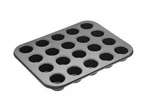MC NS Противень для выпечки канапе с антипригарным покрытием (20 отверстий) 35см х 27см