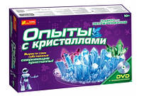 """Набор детский""""Опыты с кристаллами"""" 0320"""