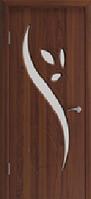 Двері міжкімнатні Тюльпан горіх шоколадний (золотий дуб)