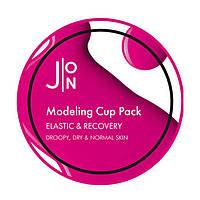 Альгинатная маска с коллагеном J:ON Elastic Recovery Care Modeling Pack 18 г